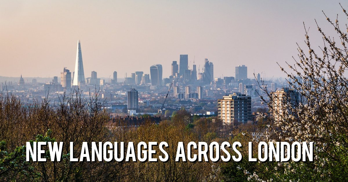 New Languages Across London