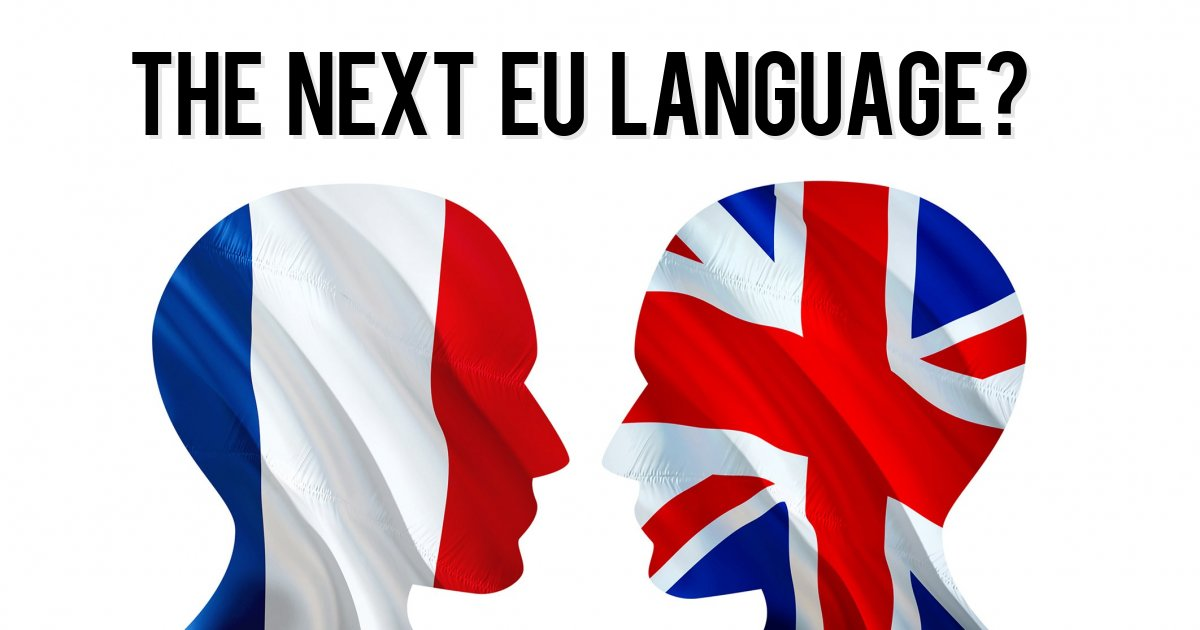 The next EU language?